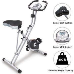 Exerpeutic摺疊健身車