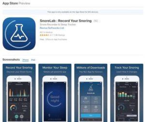 snorelab apps
